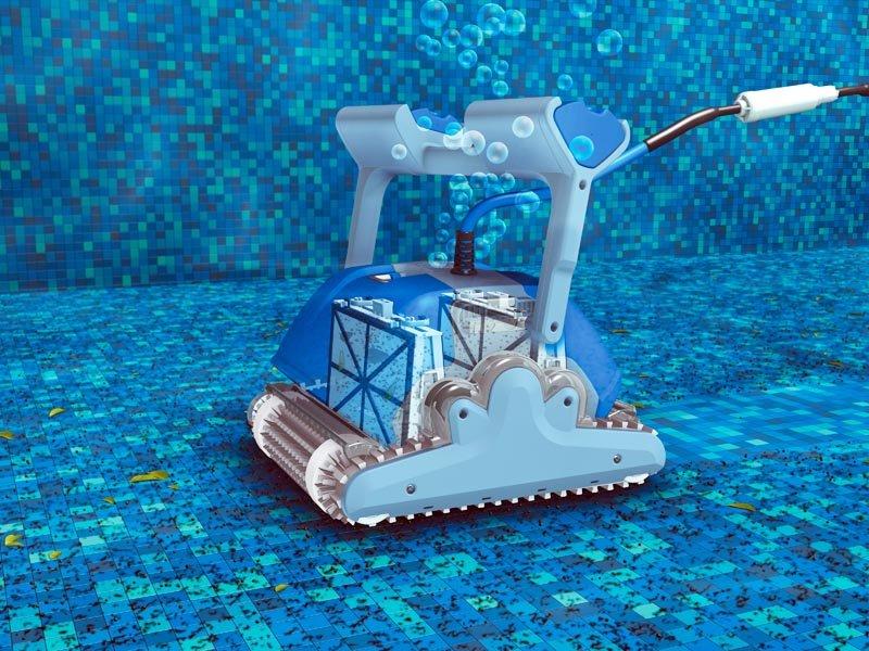 מתוחכם רובוט לניקוי בריכה, רובוטים לבריכה - שמבו OK-26